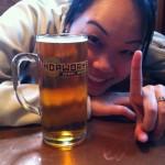 Stop #1 - Hopworks Urban Brewery