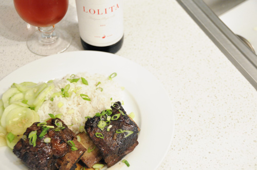 Short Ribs Paired with Goose Islane Lolita
