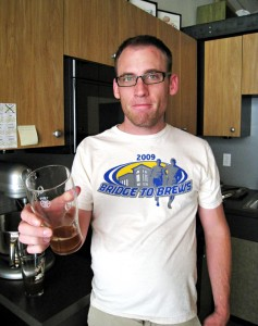 My first brewday, Memorial Day weekend 2009.