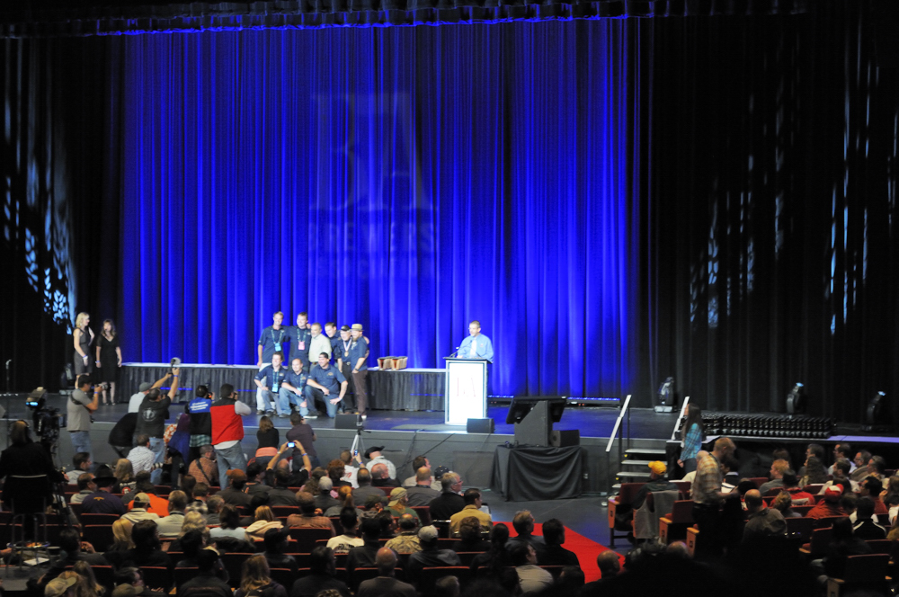 Firestone Walker Receiving Their Medal