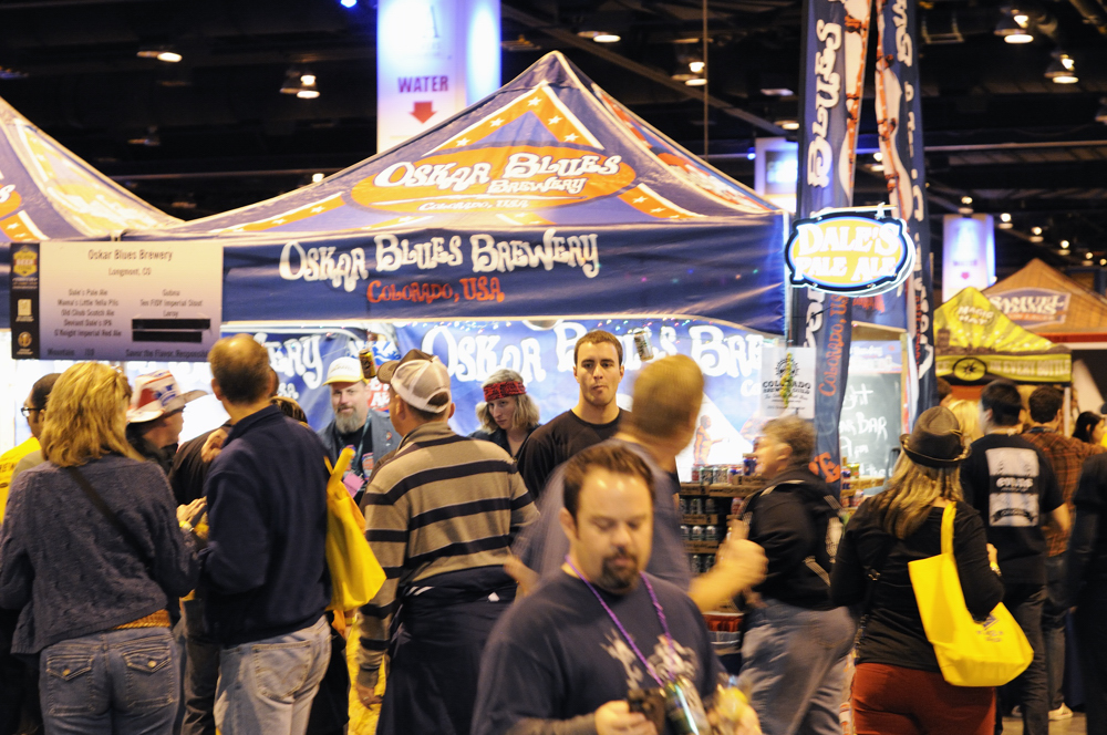 Oskar Blues at the 2012 GABF - The Pour Report