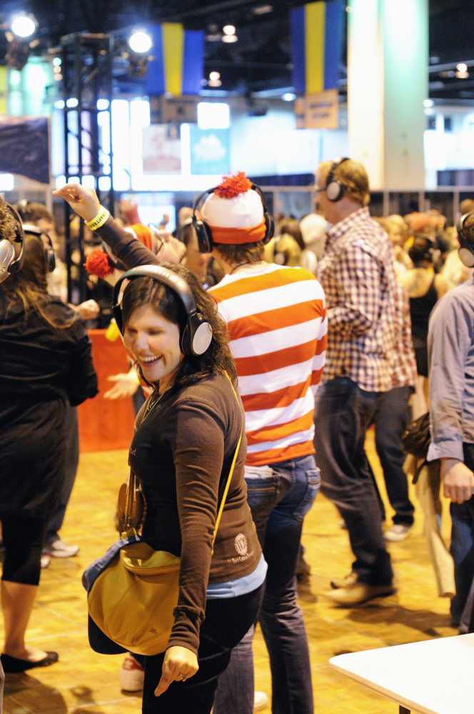 Silent Disco at the 2012 GABF
