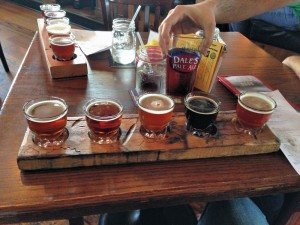 Taster Flights at Oscar Blues
