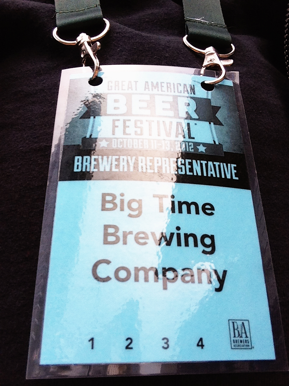 Representing Big Time Brewery