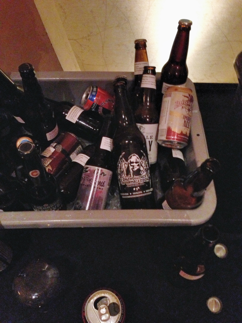 The Basement 'Dead Soldier' Bottle Share