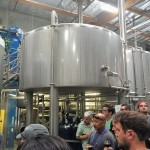 Pre-conference tour at Green Flash Brewery.