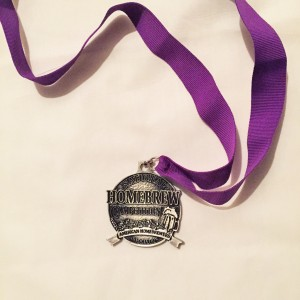 Category 5: Awarded second place for my Eisbock