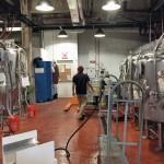 The fermentation cellar.