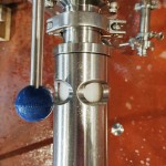 Inline oxygenation as the wort is transferred to the fermenter.