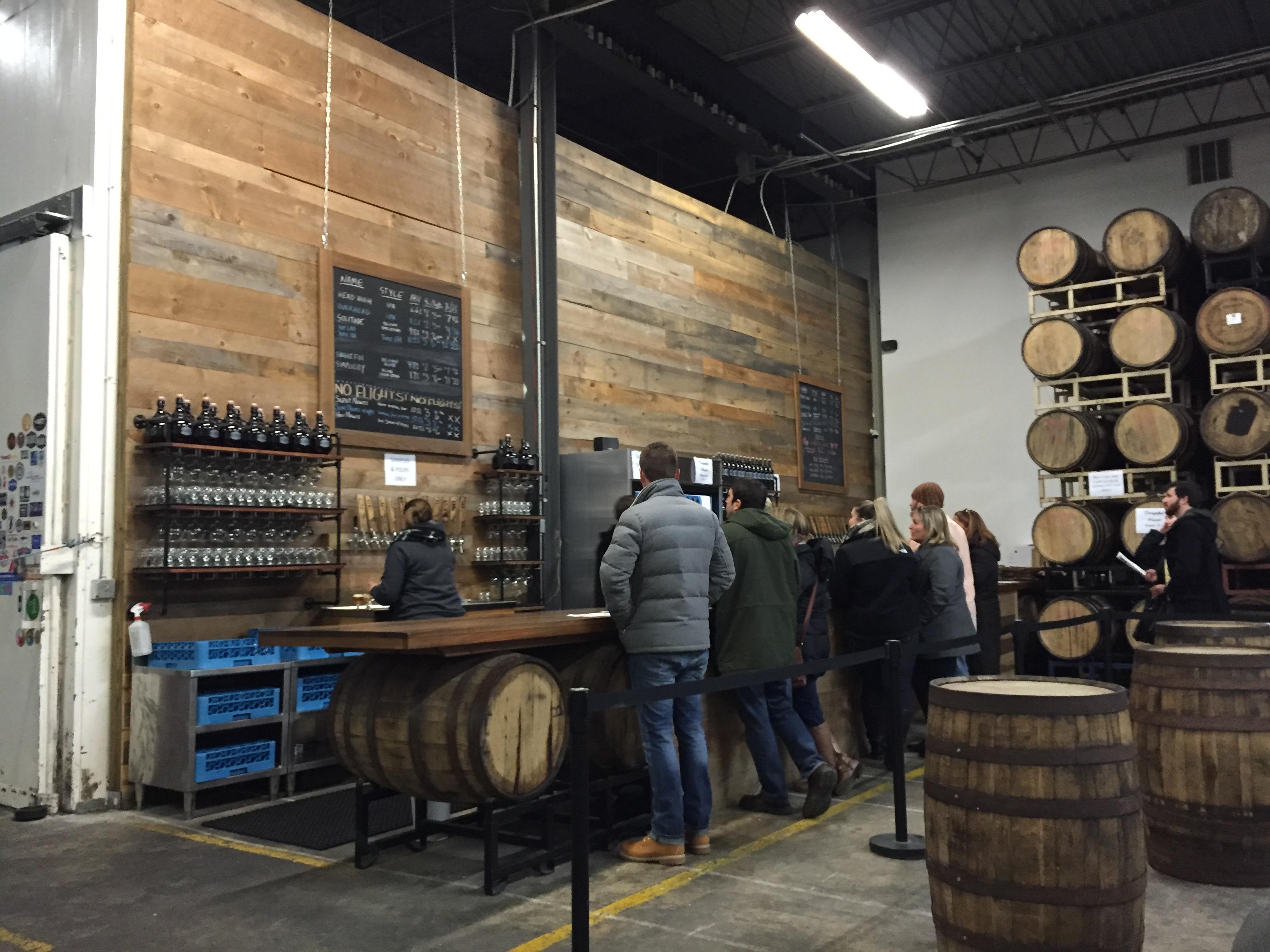 Bar Service at Kane Brewing Company