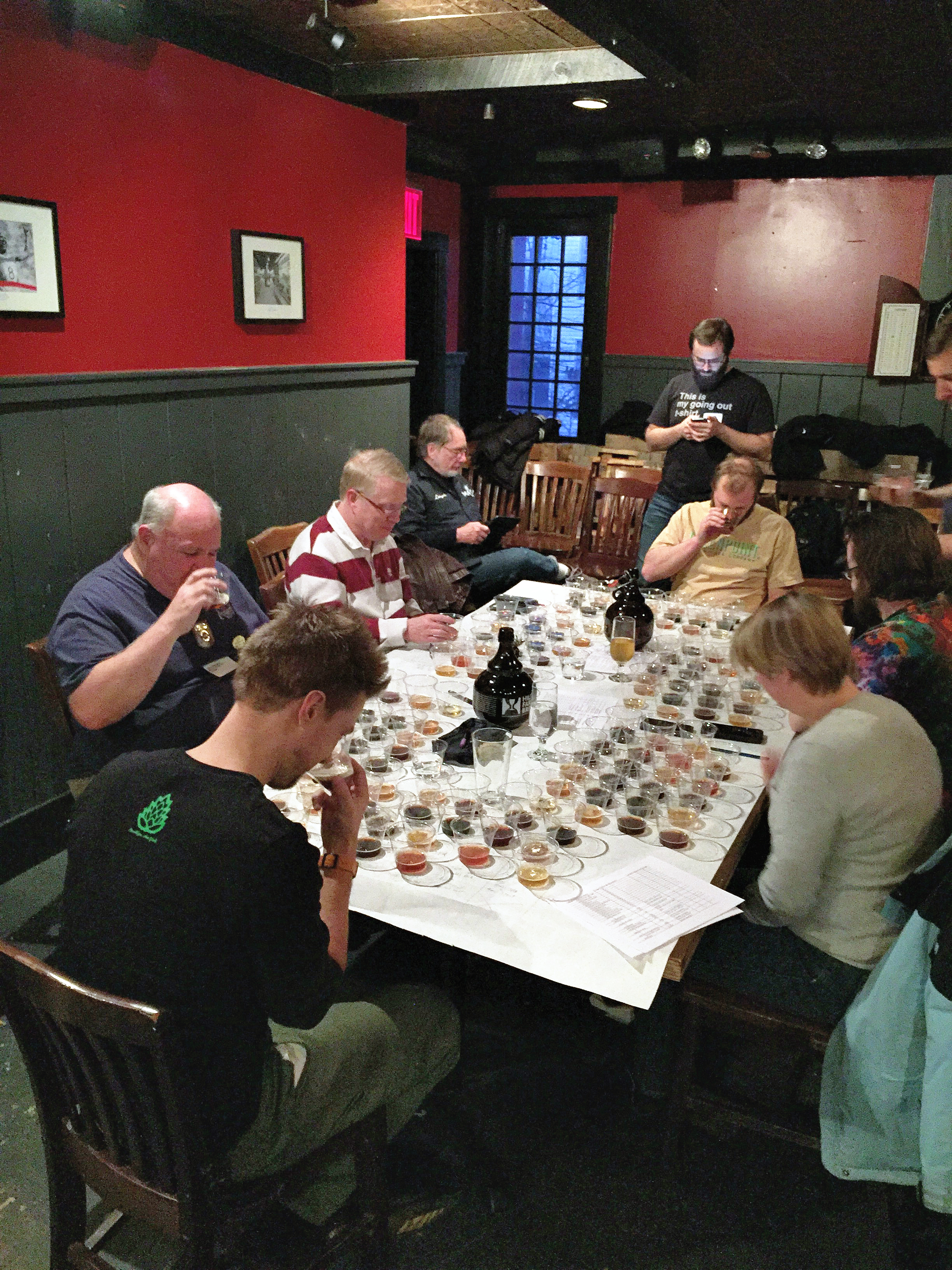 Best of Show judging at Homebrew Alley X.