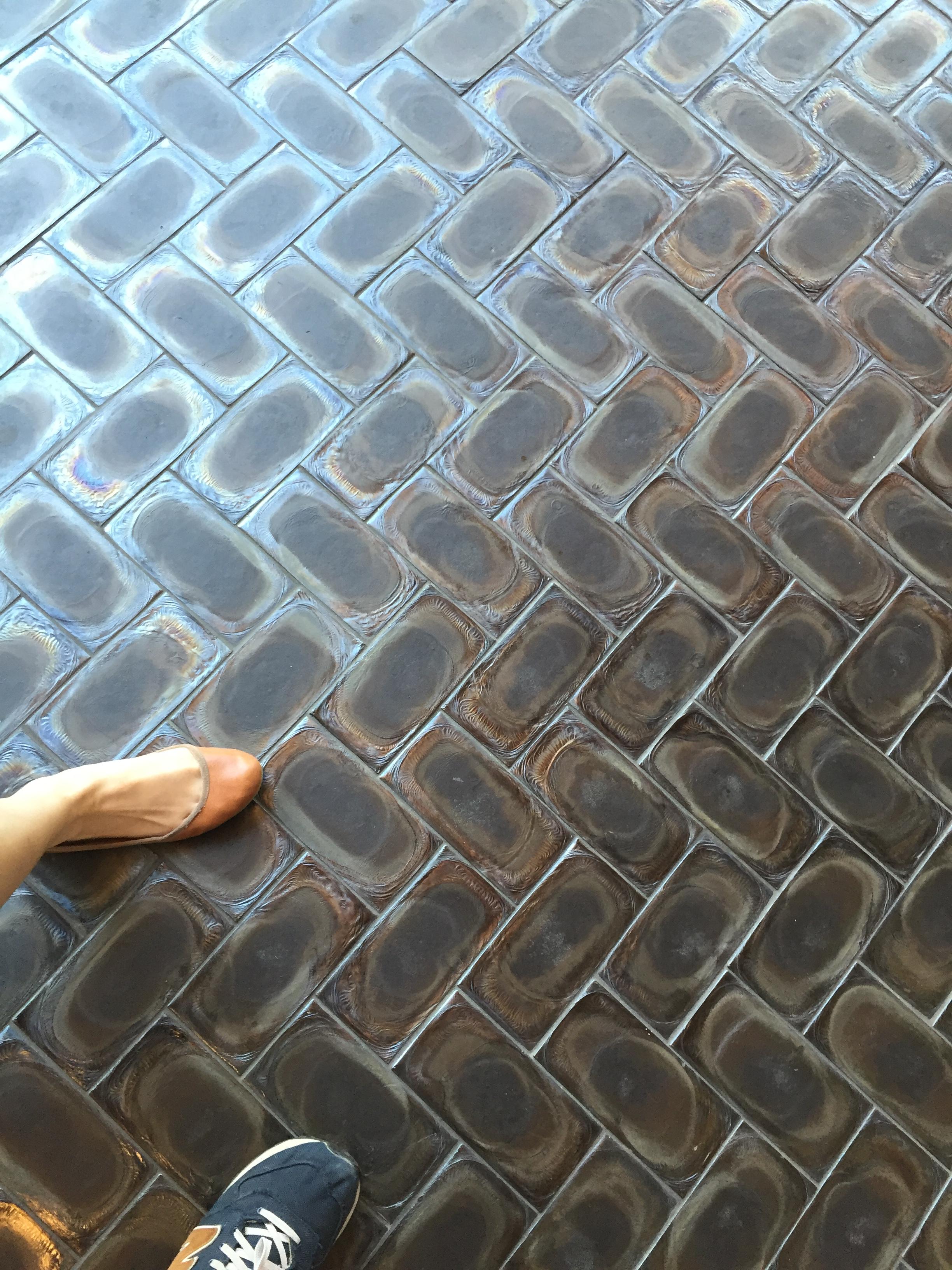 Molten Basalt Tile