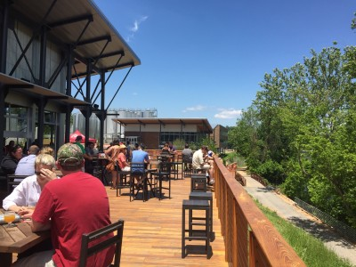 New Belgium Brewery Outdoor Deck