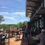 New Belgium Tasting Room Outdoor Deck