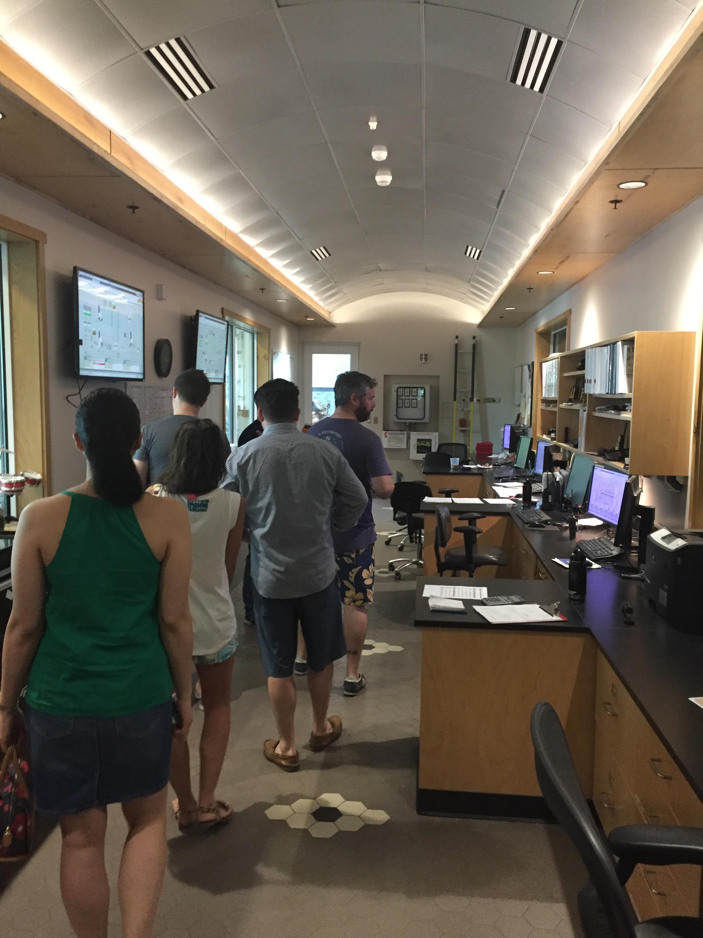 Sierra Nevada Control Room