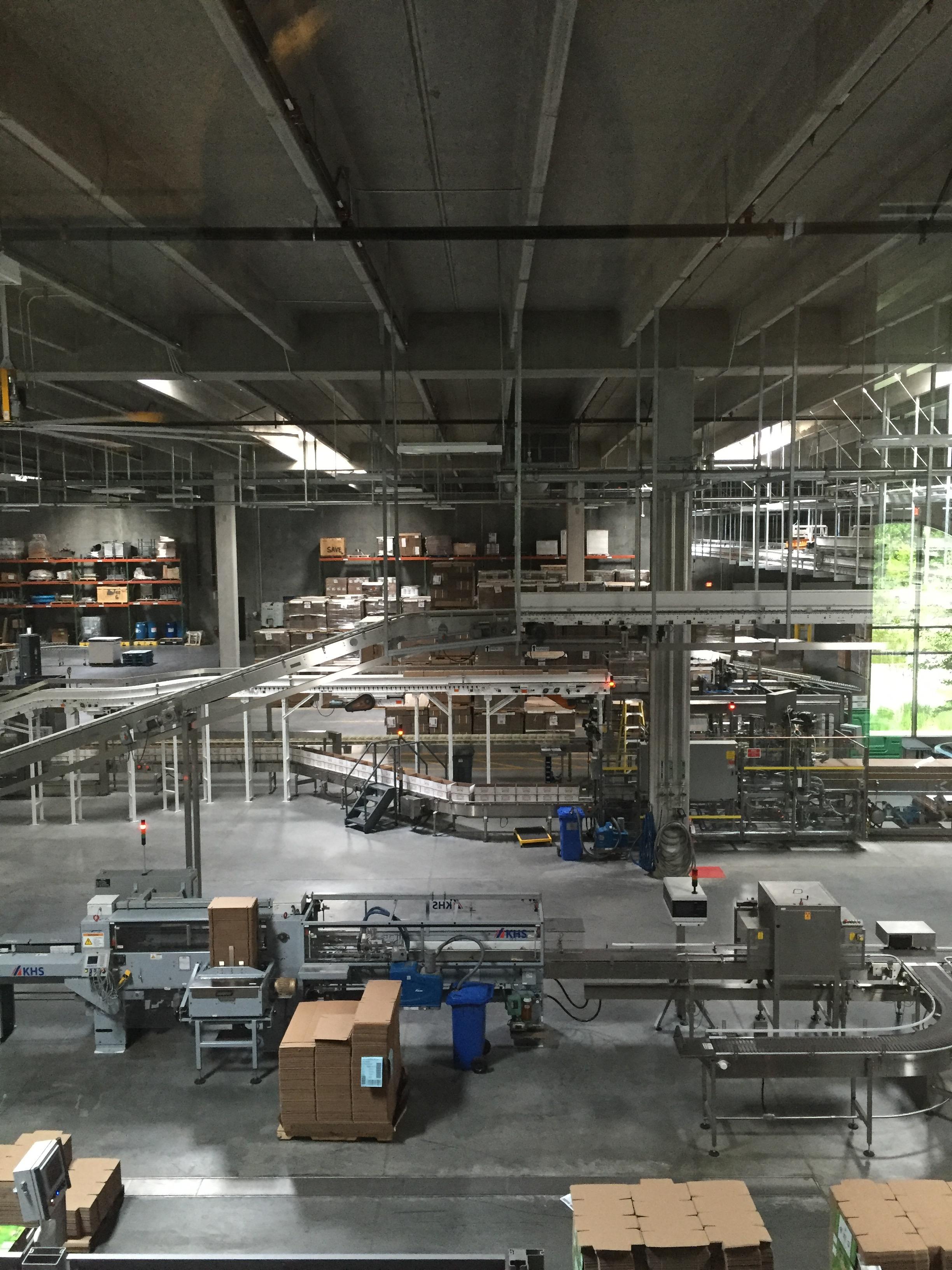 Sierra Nevada Packaging Hall