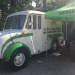 Sierra Nevada Milk Truck
