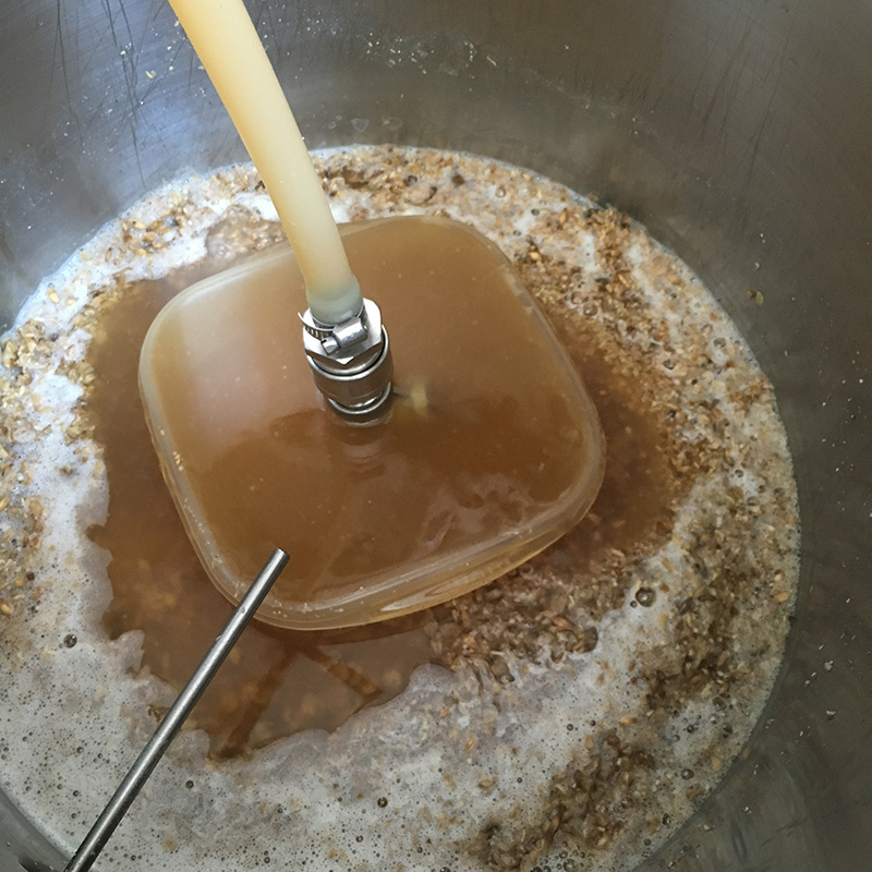 Recirculating the Wort