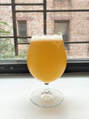Tropical to the max, not so sexy in the glass.